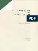 Calligraphy and Islamic Culture (Art Ebook).pdf