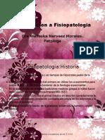 Introduccion a Fisiopatologia