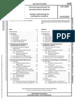 Mechatronics Methodology