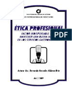 Folleto Ética Para Profesores y Trabajadores