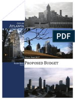 City of Atlanta 2016-2017 proposed budget