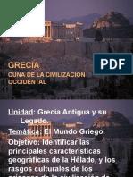 CIVILIZACION DE GRECIA 7° BASICOS 2015