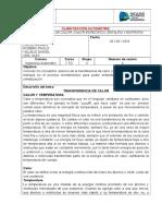 Informe de Climatización 4
