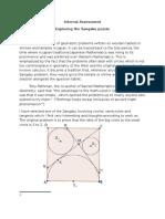 Maths IA Sangaku