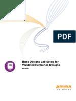 Base Designs Lab Setup for Validated Reference Design