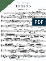 Georges Enesco - Legend (Trumpet Parts).PDF