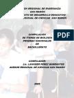 Compilación Ítems de Bachillerato en Biología