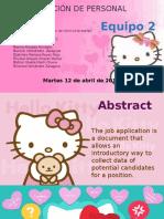 """""""Como elaborar y usar formas  de solicitud de empleo"""""""