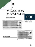 Mg32 14fx Manual