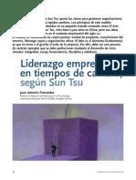 Liderazgo empresarial en tiempos de cambio-Según Sun Tsu