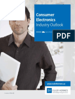 Industry Outlook Consumer Electronics April 2013
