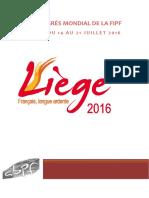 14ème congrès_FIPF