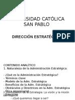 Dirección Estratégica Parte 1 JPT