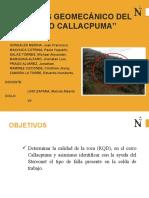 Análisis Geomecánico del Cerro Callacpuma