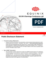 Equinix Q315 Earnings Presentation Final (1)