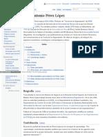 Es Wikipedia Org Wiki Juan Antonio P C3 A9rez L C3 B3pez