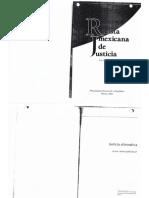 Libro JusticiaAlternativa GermanAdolfoCastilloBanuef 2005