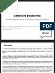Barometro Presidencial Abril 2016