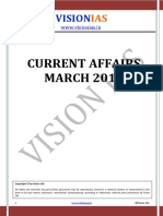 Current Affairs March - 2016