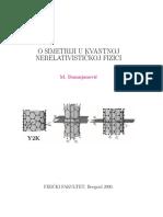 Damnjanović - O Simetriji u Kvantnoj Nerelativ Fizici