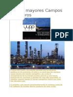 Los 10 Mayores Campos Petroleros