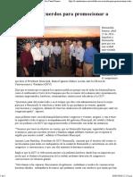 22-04-16 Establecen Acuerdos Para Promocionar a Hermosillo