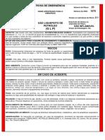 Ficha de Emergência_glp-modelo Petrobrás
