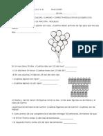 Evaluación de Matemática 4