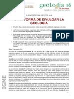 Nota Prensa Geolodia 2016