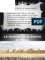 Troya,Mito o Realidad