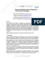 2011 Analise Influencia Material Desgaste Ferramenta Usinagem