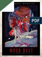 """Moondust"" (Sci-fi Horror Graphic Novel)"