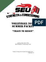volleyball 2016 summer packet