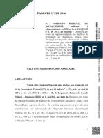 Relatório Antonio Anastasia