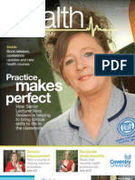Health at Coventry University Issue 4