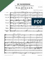 "Mozart - ""Die Maurerfreude"" Kantate K. 471"