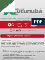 Presentación Proyecto Termocucunubá COLOMBIA 2015