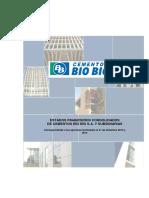 Cementos BioBio S.A. 201512 Estado Financiero