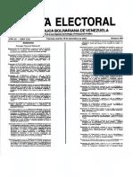 Gaceta Electoral 405