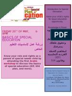 Arabic SP ED Workshop 5.20.16