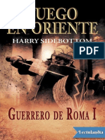 Fuego en Oriente - Harry Sidebottom