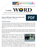 Cincy LGBT Bars Why Are So Few Left - The Gay Word the Gay Word