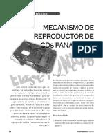 Mecanismo CD Panasonic
