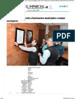 13-03-16 Acosta a Funcionarios Municipales a Romper Paradigmas