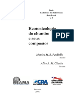 Ecotoxicologia Chumbo