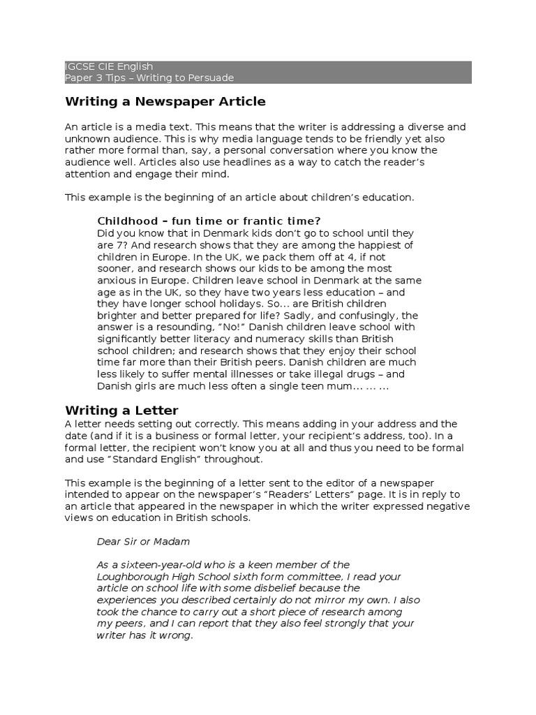 Importance high school sports essay