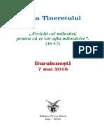 ZT Buruienesti 2016 Brosura