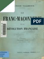 Revolution Francaise Talmeyr 1904