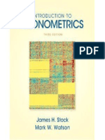 Introduction to econometrics (3rd edition) ebook college textbooks.