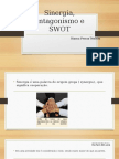 Sinergia, antagonismo e SWOT.pptx